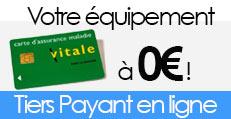 avec le tiers payant en ligne, votre équipement optique à 0€